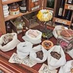 Tradycyjna apteka z ziołami