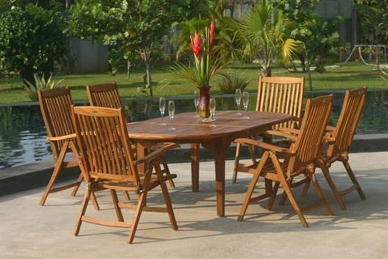 Meble Ogrodowe Drewniane Komplety : Drewniane meble ogrodowe, jak je wybrać?  Porady Domowe