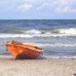 W Rewalu na plaży